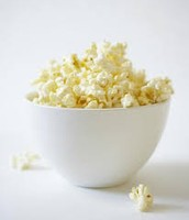 3 Cups of popcorn = 1oz.