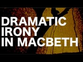 Lady Macbeth demonstrates dramatic irony
