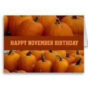 Mrs. Mitzel - November 8