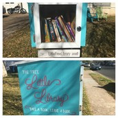 Love the Little Free Library in the Pillow neighborhood!