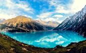 mountains in Tajikstan