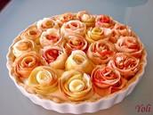 Der Apfel- kuchen