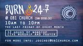Burn 24-7: San Diego