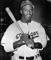 A negro Major league Baseball Player
