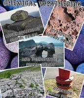Chemical Weathering Pic Collage