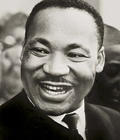 Martian Luther King Jr. ; a powerful voice for the discriminated people at the time, that this law helped.