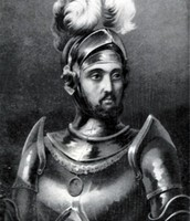 This is Christopher Columbus's son Diego Columbus.