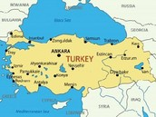 Map If turkey