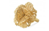Geneve Lace Ring in Gold, $59