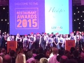 Catering students serve up two successful awards nights