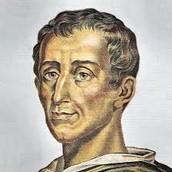Influence of Enlightenment Philosophers (Baron De Montesqieu Pictured Left)