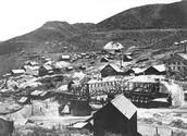 Silver mine in Nevada