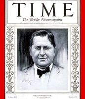 William Wrigley on the Front Page of the New York Times