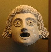 Masks in drama