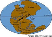 See the supercontinent Pangea