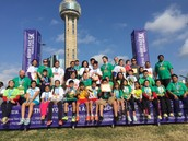 Sudie Williams ES Participates in Dallas Mayor's Race