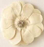 Bardot Flower- Brooch