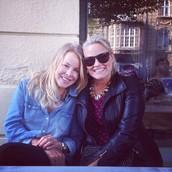 Jenna Ledward (right)