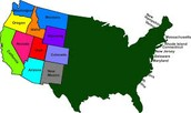 The west states