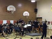 Shattuck Orchestra visits Taft