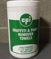GRAFFITI & PAINT REMOVER TOWELS