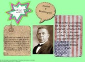 Booker T Washington facts