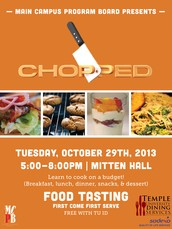 Come to Chopped Tonight!