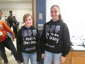 Spirit Week- Twin Day