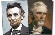 Abraham Lincoln and Jefferson Davis