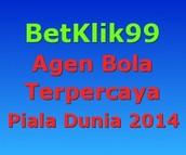 BetKlik99 Agen Bola Terpercaya Piala Dunia 2014