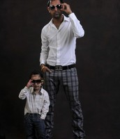 Gippy Grewal and his son