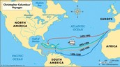 Columbus's Pathway