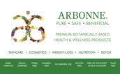 Support the values you have committed to yourself and your family by making the switch to ARBONNE