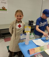 Emma as Clara Barton- Is nursing in the family?
