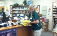 Thanks Mrs. Cook for Help with Our Textbooks!