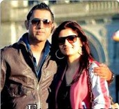 Gippy Grewal and his wife