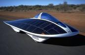 solar power car.