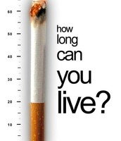 how long can you live with your tobacco