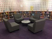 New soft seating in our Award Winning section