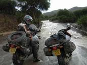 Cómo caminos pueden ser durante la estación lluviosa