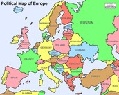 The Map of Europe