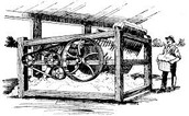 COTTON GIN INVENTED BY: ELI WHITNEY