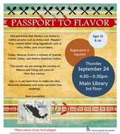 Passport to Flavor: Destination Mexico