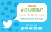 Join our Twitter Chat (#UGAJobChat): Career Fair Prep - 9/15