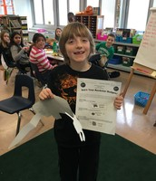 First Rockin' Reader in the Hall of Fame!