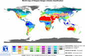 World Map of Climate Classifications
