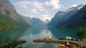 Sande Camping - in the middle of Fjord Norway!