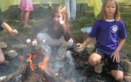 Hot dogs and marshmallows!