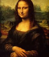 Da Vinci's famous Mona Lisa