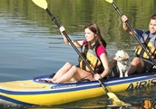 The best inflatable SUP boards & 2 Person Kayak Fishing